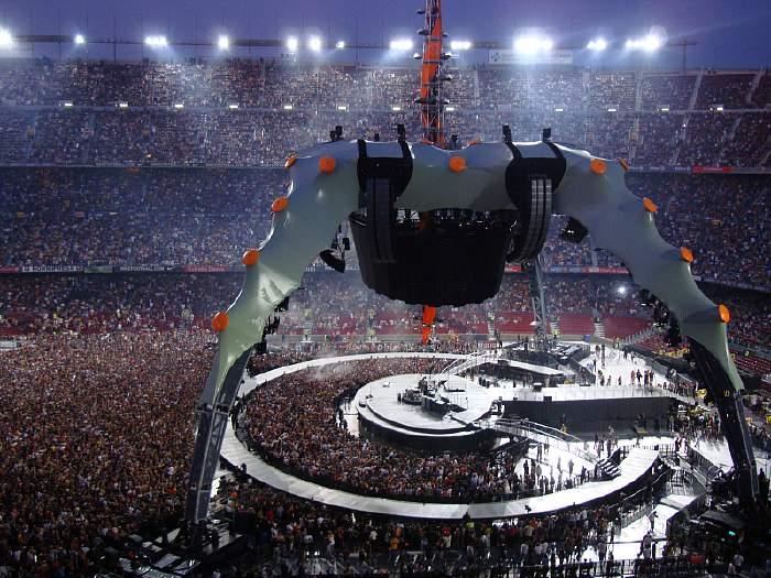 groupe U2: tournée 360°