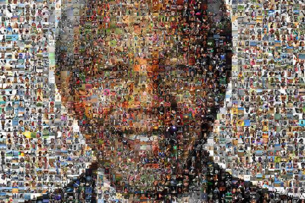 Images formant le portrait de Nelson Mandela
