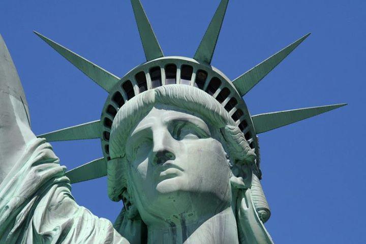 Tête de la statue de la Liberté
