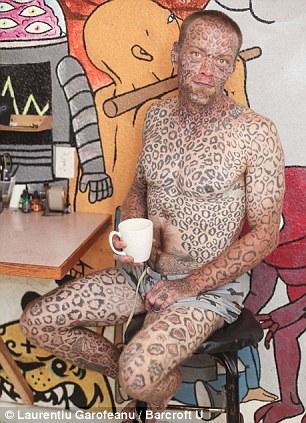 Larry Da Leopard: l'homme aux 1000 tatouages