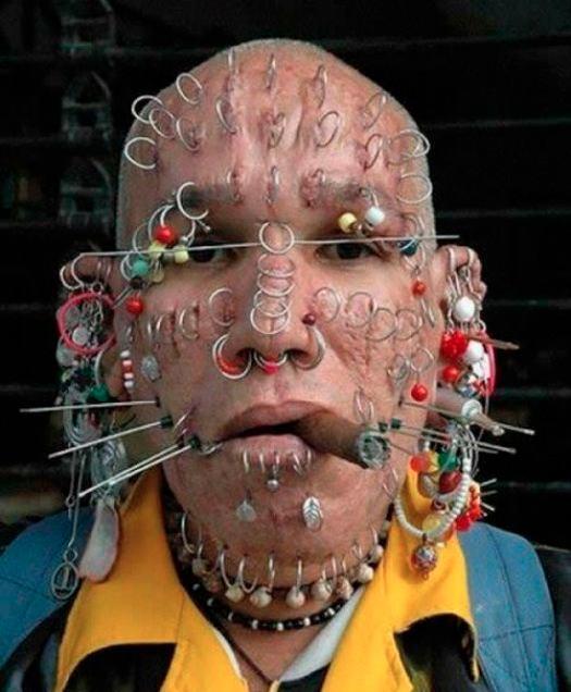 piercings en tous genres