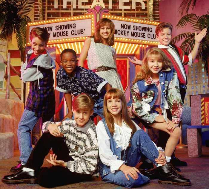 Mickey Mouse Club  Christina Aguilera, Britney Spears, Justin Timberlake, Ryan Gosling