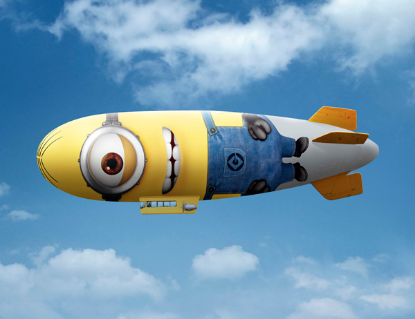Minion Zeppelin