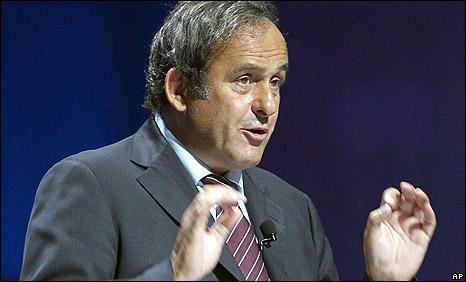 Michel Platini: président de l'UEFA