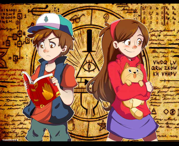 "Capture d'écran: série ""Gravity Falls"" sur Disney channel 411"