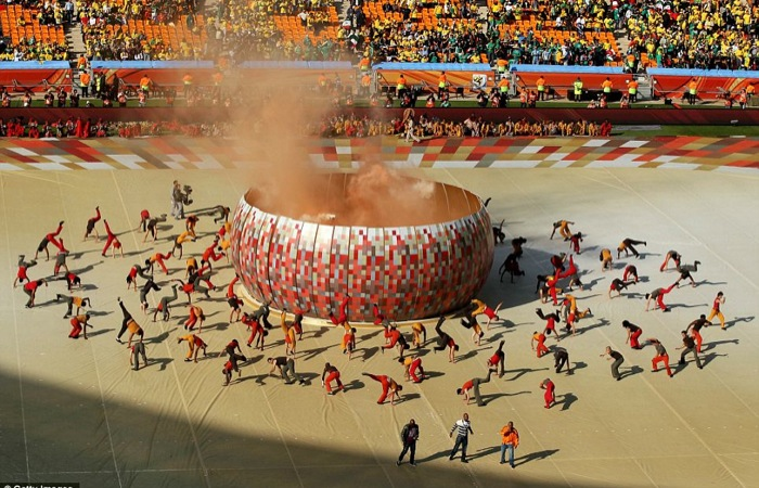 Cérémonie d'ouverture de la coupe du monde 2010